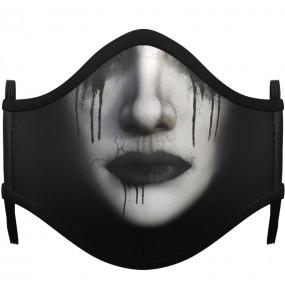 Máscara Gótica de proteção para crianças
