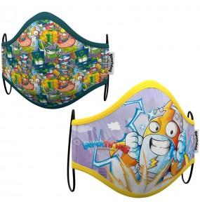 Máscara Kid Kazoom SuperZings de proteção para crianças