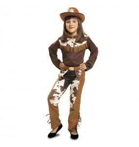 Disfarce Cowgirl Western menina para que eles sejam com quem sempre sonharam