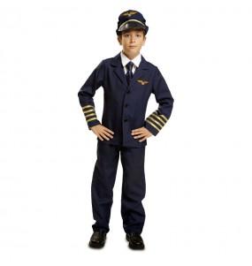 Disfarce Piloto de Voo menino para deixar voar a sua imaginação