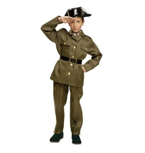 Disfarce Guarda Civil menino para deixar voar a sua imaginação