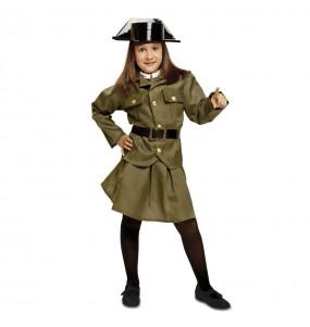 Disfarce Guarda Civil menina para que eles sejam com quem sempre sonharam
