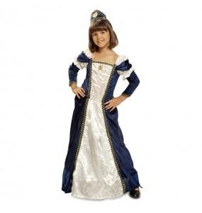 Disfarce Dama medieval menina para que eles sejam com quem sempre sonharam