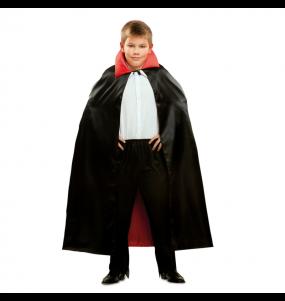 Disfarce Halloween Capa Vampiro para crianças para meninos para uma festa do terror
