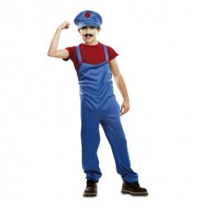 Disfarce Super Mario menino para deixar voar a sua imaginação