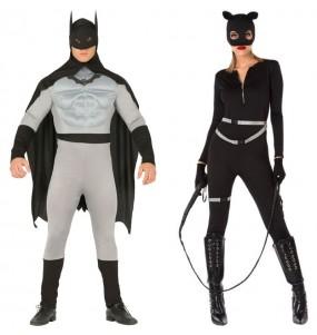 O casal Batman e Catwoman original e engraçado para se disfraçar com o seu parceiro