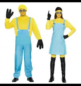 O casal Minions original e engraçado para se disfraçar com o seu parceiro