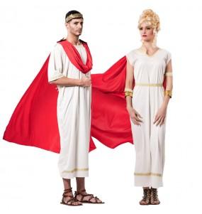 O casal Deuses gregos do Olimpo original e engraçado para se disfraçar com o seu parceiro