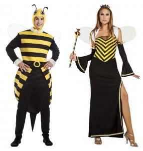 O casal Abelhão e Abelha original e engraçado para se disfraçar com o seu parceiro