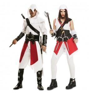 O casal Assasin's Creed Ezio original e engraçado para se disfraçar com o seu parceiro