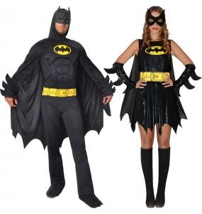 O casal Batmans original e engraçado para se disfraçar com o seu parceiro