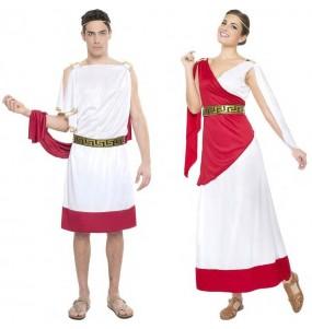 O casal Deuses gregos original e engraçado para se disfraçar com o seu parceiro