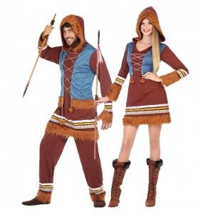O casal Esquimós original e engraçado para se disfraçar com o seu parceiro