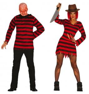 O casal Freddy Krueger original e engraçado para se disfraçar com o seu parceiro