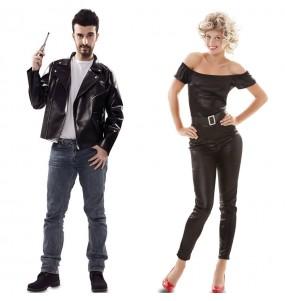 O casal Grease original e engraçado para se disfraçar com o seu parceiro