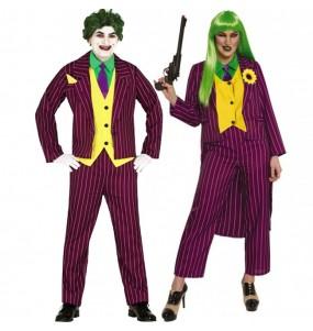 O casal Jokers Arkham original e engraçado para se disfraçar com o seu parceiro