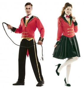 O casal Mestre de Cerimónias original e engraçado para se disfraçar com o seu parceiro