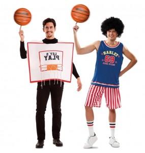 O casal NBA All Star original e engraçado para se disfraçar com o seu parceiro