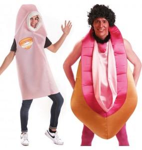 O casal Satisfyer e Vagina original e engraçado para se disfraçar com o seu parceiro