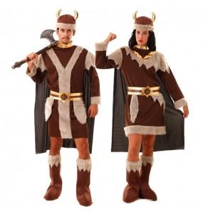 O casal Vikings original e engraçado para se disfraçar com o seu parceiro