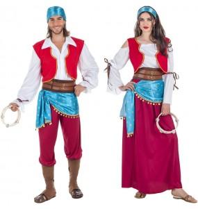 O casal Zíngaros Adivinhos original e engraçado para se disfraçar com o seu parceiro