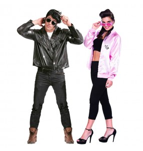 O casal Danny e Sandy Grease original e engraçado para se disfraçar com o seu parceiro