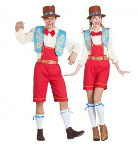 O casal Marionete Pinocchio original e engraçado para se disfraçar com o seu parceiro