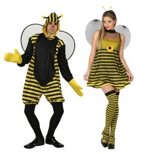 O casal Abelhas original e engraçado para se disfraçar com o seu parceiro