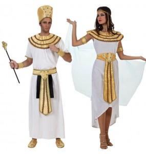 O casal reis do Nilo original e engraçado para se disfraçar com o seu parceiro