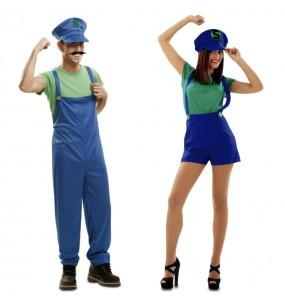O casal Super Luigi original e engraçado para se disfraçar com o seu parceiro