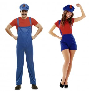 O casal Super Mario original e engraçado para se disfraçar com o seu parceiro