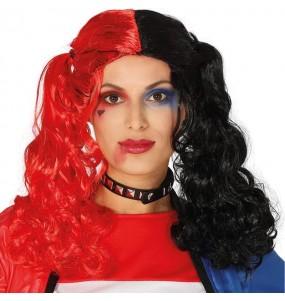 A Peruca Harley Quinn Supervilão mais engraçada para festas de fantasia