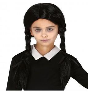 Peruca Wednesday Addams