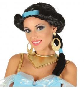 A Peruca Princesa Jasmin mais engraçada para festas de fantasia