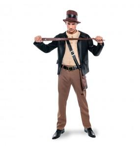 Disfarce Arqueólogo Indiana Jones adulto divertidíssimo para qualquer ocasião