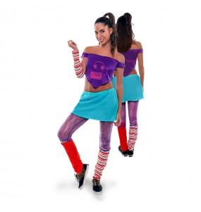 Disfarce original Dance Star Lilás mulher ao melhor preço