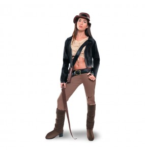 Disfarce original Arqueóloga Indiana Jones mulher ao melhor preço