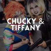 Loja online de disfarces Chucky