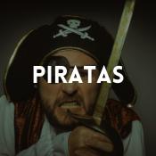 Catálogo de fatos piratas para rapazes, raparigas, homens e mulheres