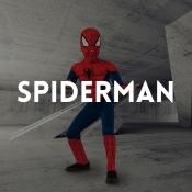 Catálogo de fatos Spiderman para rapazes, raparigas, homens e mulheres