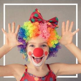 Comprar online os fatos Palhaço e circo mais originais para adultos e crianças