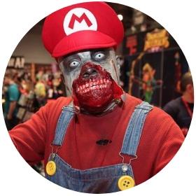 Loja online de fatos Zombies