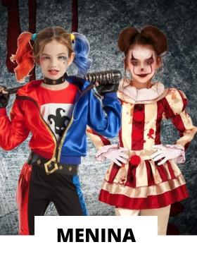 Fatos de Halloween para menina