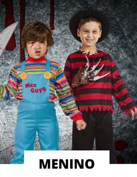 Fatos de Halloween para menino