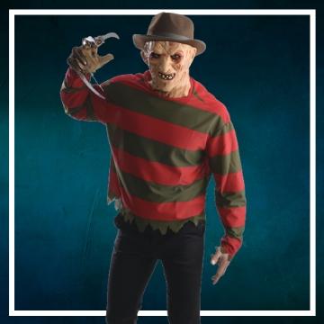 Loja online de roupas de Halloween de Freddy Krueger