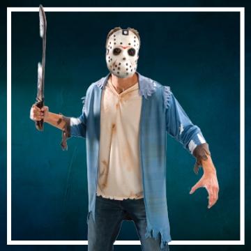 Loja online de roupas de Halloween de Jason Sexta-feira 13