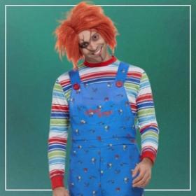 Comprar online os disfarces mais assustadores de Halloween para homens