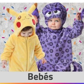 Ideias para vestir os seus bebés com fatos originais
