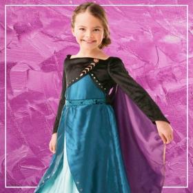 Comprar online os disfarces mais originais de Frozen para meninas
