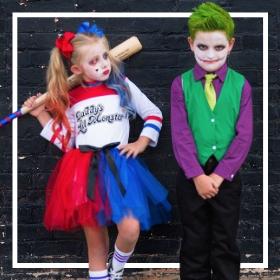 Comprar online os fatos de Halloween mais originais para crianças